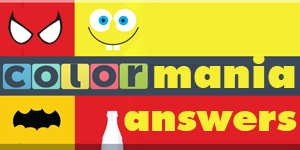 Colormania Answers | Colormania Cheats & Walkthrough